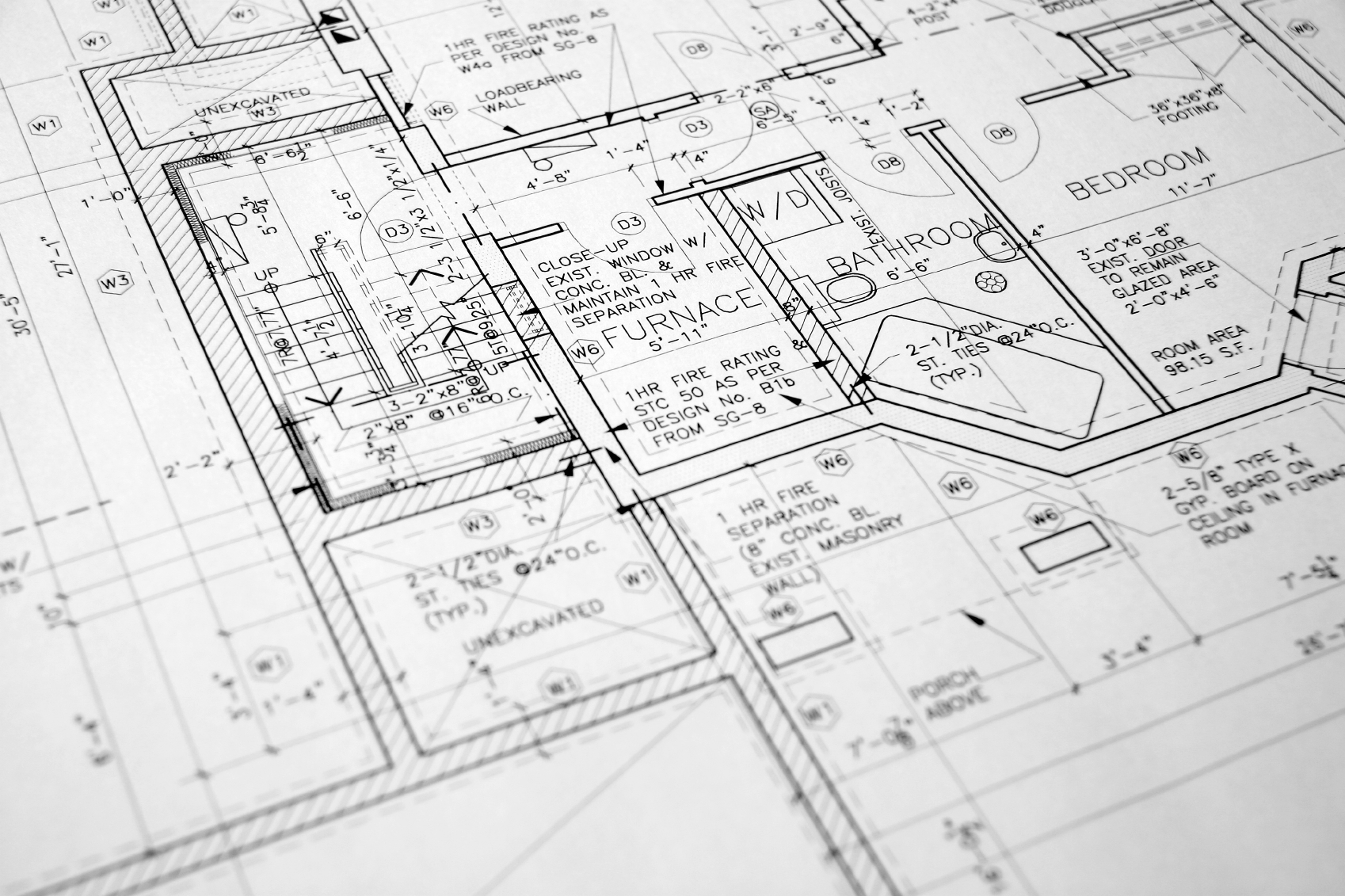 Blueprints trademark custom construction for Print architectural drawings